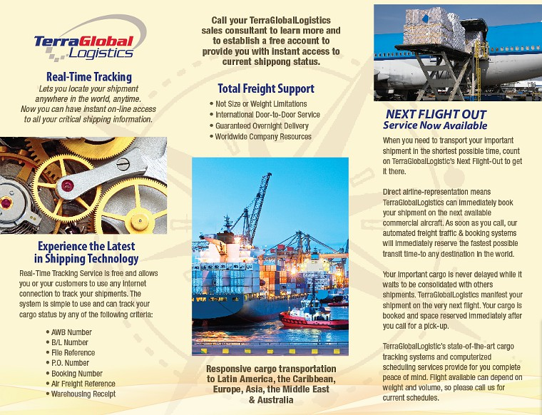 Terra Global Logistics' Brochure